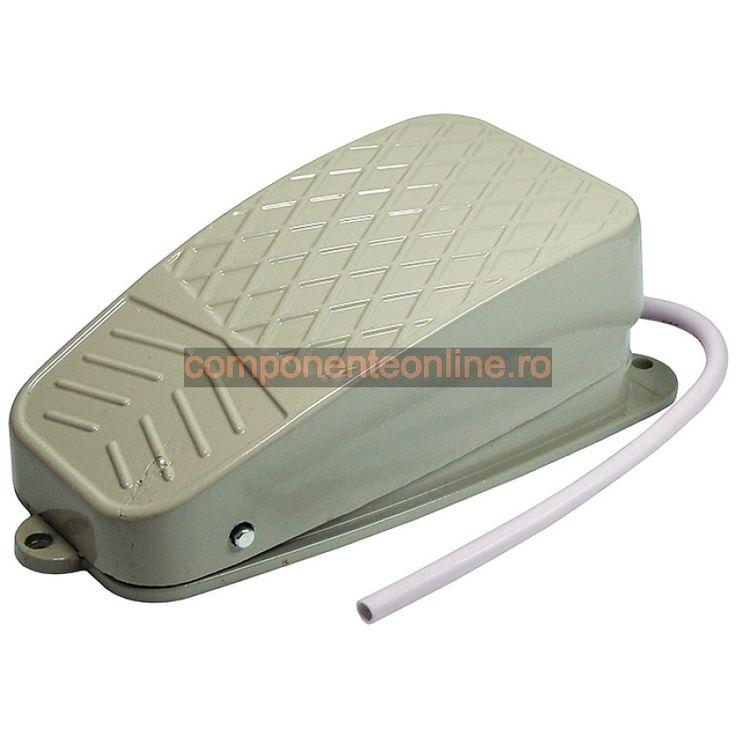 Intrerupator tip pedala, metalic, 10A, 250V AC - 169540