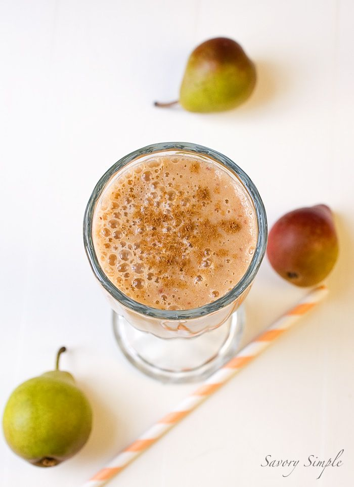 Fall-inspired smoothies ~ Savory Simple