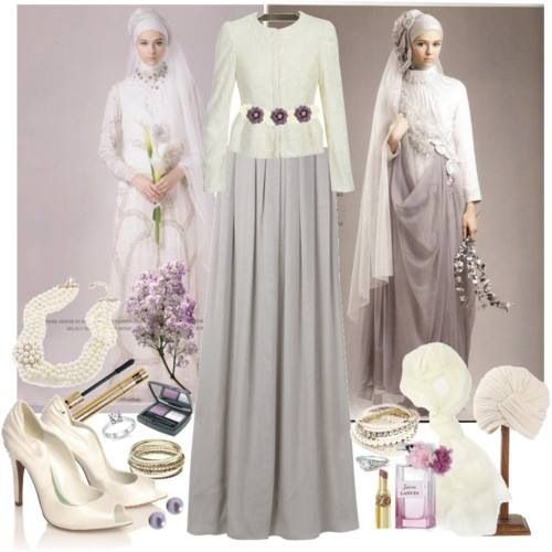 Hijabi wedding inspiration :) #wedding #hijab #Islam #modesty #beautiful