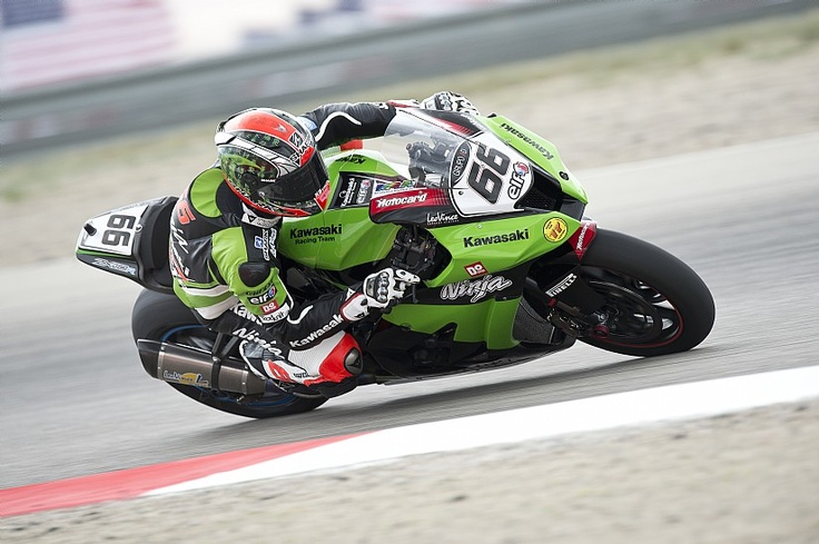Tom Sykes, Kawasaki. Foto: Kawasaki Racing