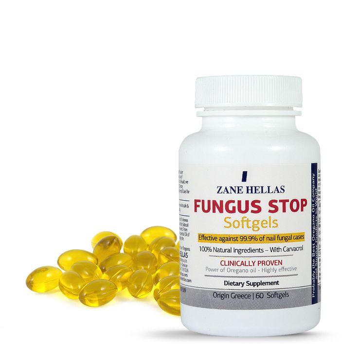 FUNGUS STOP Softgels - Anti-fungal Complementary Solution.