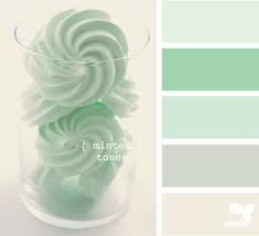 mint and grey pallet, LOVING these colors!