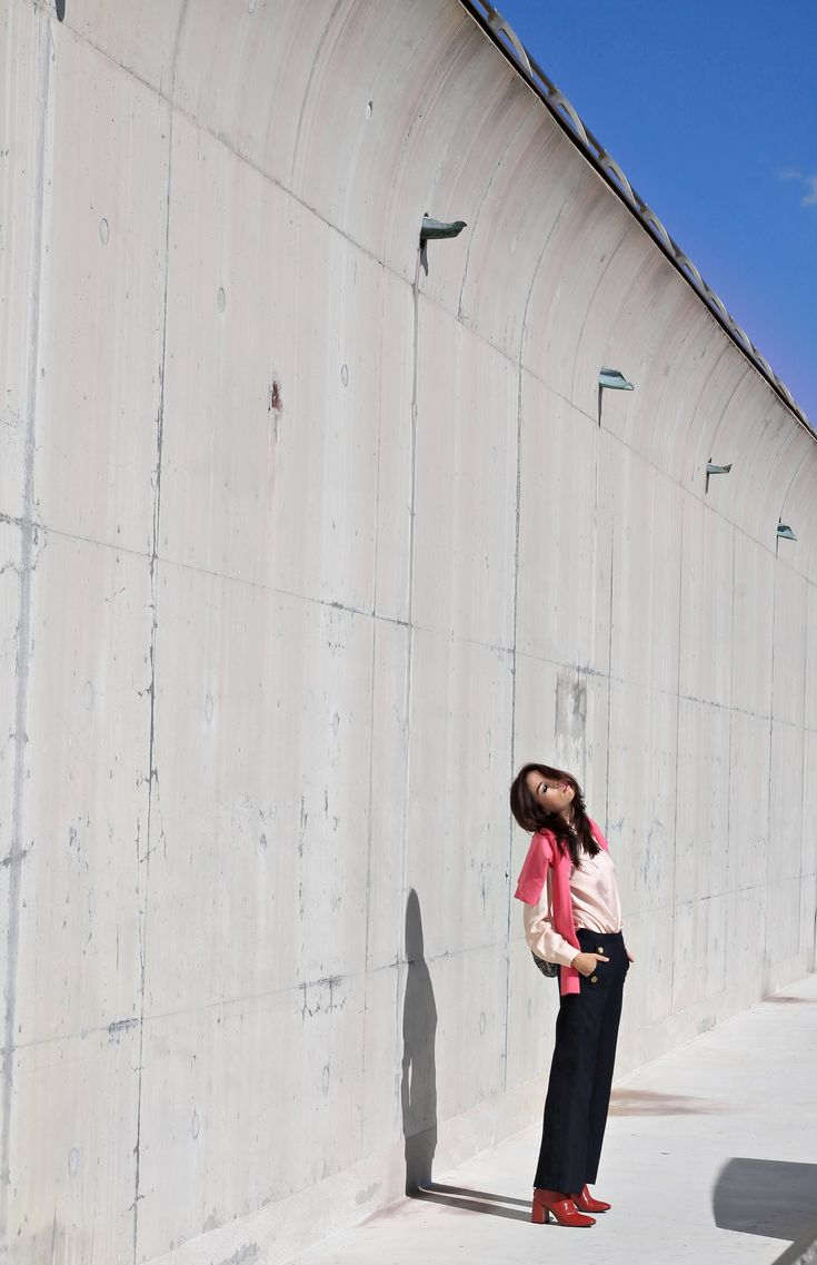 Sfilate aperte al pubblico Milano, theladycracy.it, elisa bellino, fashion blog italia 2016, fashion blogger italiane 2016, fashion blogger più influenti 2016, fashion blogger famose 2016, zara look autumn winter 2016, cosa comprare da zara ottobre 2016, stivaletti rossi zara 2016, ankle boots red zara fall winter 2016, zainetto zara winter 2016, outfit ottobre 2016 blogger, blogger moda 2016, abbinare rosso e rosa, rosso e fucsia,