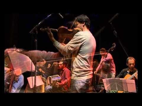 """Diego Schissi Quinteto - Presentación oficial del cd """"Tongos, tangos improbables"""" - Teatro 25 de Mayo, 10 de noviembre 2010 - Guillermo Rubino, violín - Sant..."""
