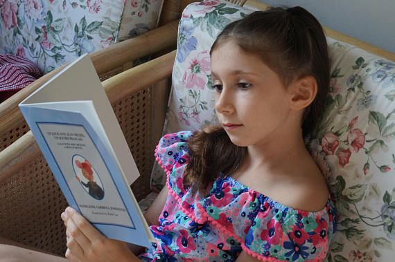 Children's Book French Story Book Children's