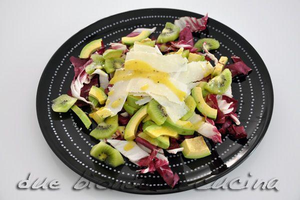 Due bionde in cucina: Insalata con avocado e kiwi