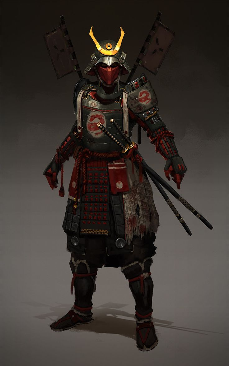The old samurai warrior