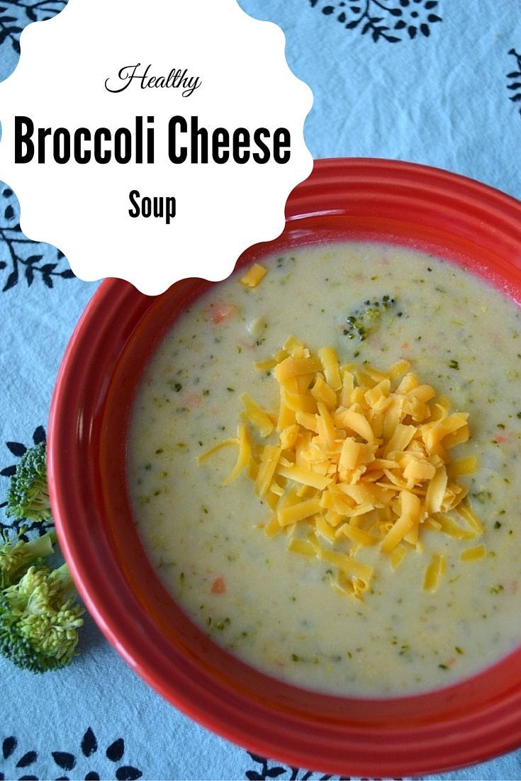 Healthy Broccoli Cheese Soup - this soup is our favourite comfort hearty, vegetarian meal and is perfect for a winter day. So delicious, cheesy and healthy! Plus, the kids loved it - yay! #BornOnTheFarm