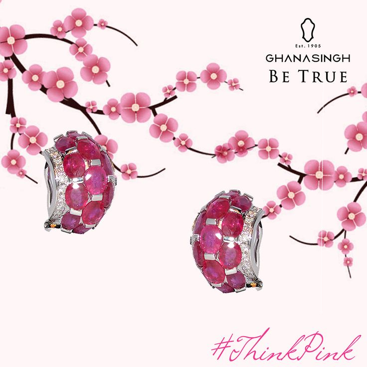 To accentuate your sparkle, all you have to do is #ThinkPink.