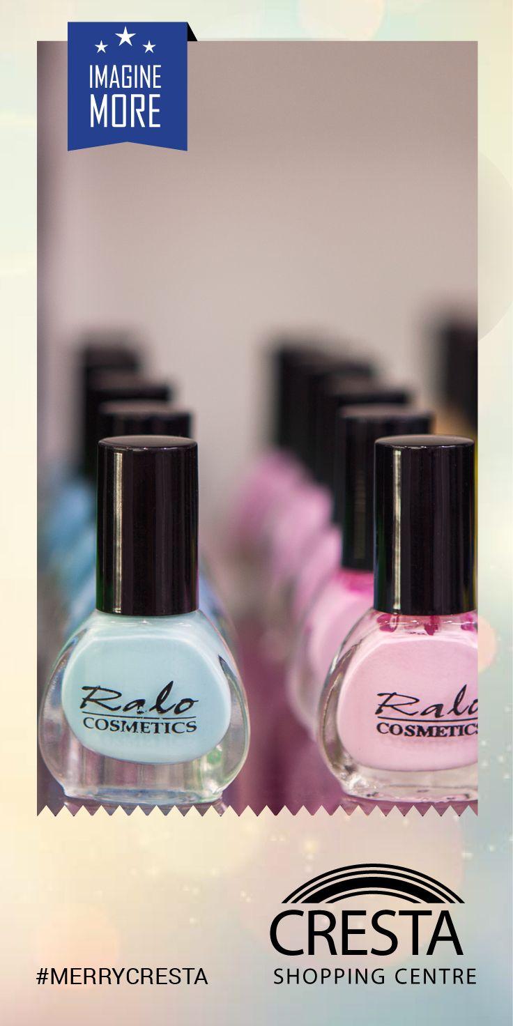 Nail polish from Ralo Cosmetics Cresta Centre @R39.50 each #MerryCresta #Nails #Colour