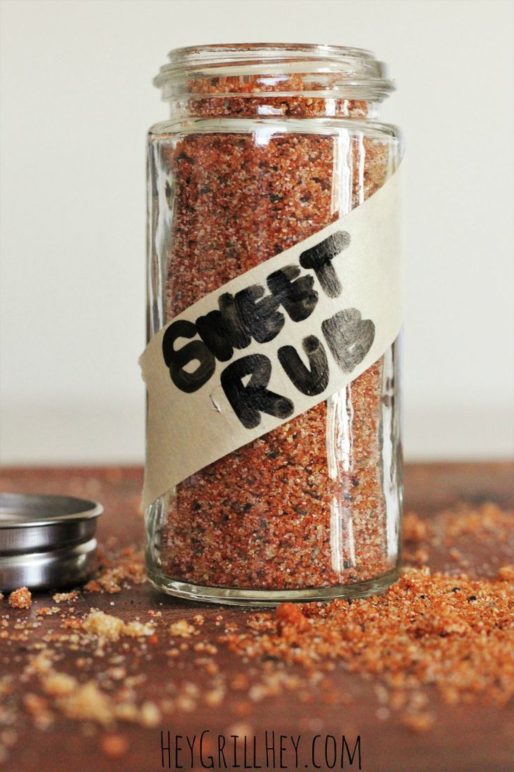Homemade Sweet Rub.. Amazing on grilled chicken, pork, shrimp, etc.