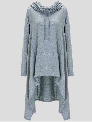 GET $50 NOW   Join RoseGal: Get YOUR $50 NOW!http://www.rosegal.com/plus-size-hoodies/drawstring-asymmetric-longline-hoodie-835487.html?seid=5453320rg835487
