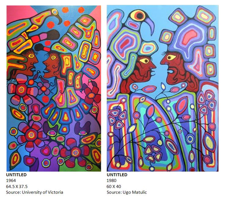 Norval Morrisseau's art speaks. Are you listening?