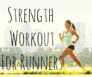Your Healthy Year | Easy Strength Workout For Runners | http://www.yourhealthyyear.com