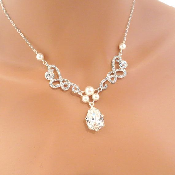 Hey, I found this really awesome Etsy listing at http://www.etsy.com/listing/114956481/rhinestone-necklace-bridal-necklace