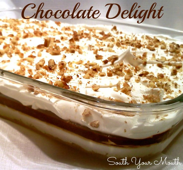 South Your Mouth: Chocolate Delight