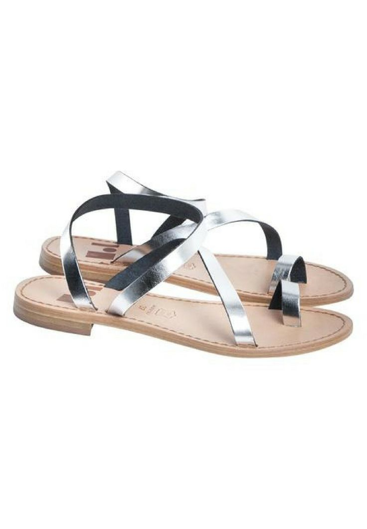 The Finery - Dept. Of Finery - Grace Sandals In Silver