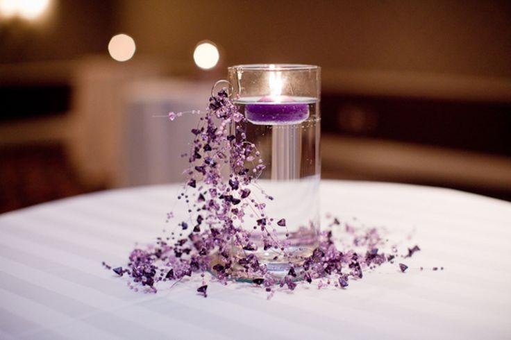 alexandria purple gray wedding hotel monaco 550×366 Alexandria Wedding: Christine + Dimitrios Purple and Gray Reception