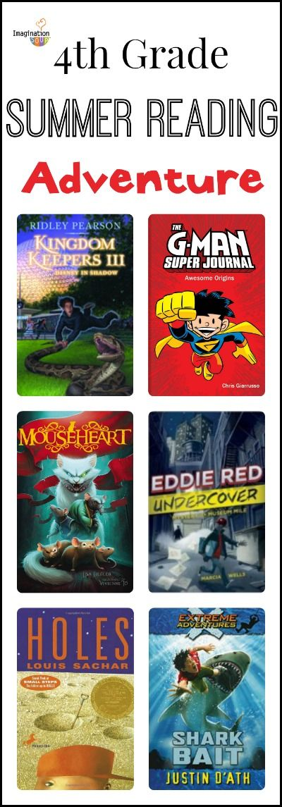 4th Grade Reading List (age 9 - 10) - Adventure stories are always popular!
