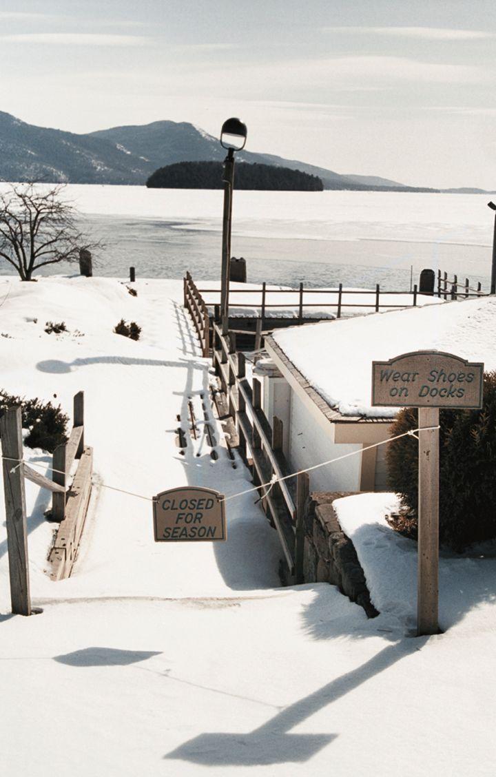 Winter days by the dock.  http://www.lexingtoncompany.com/
