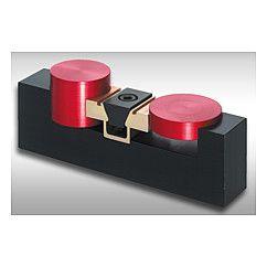 Dispositif de serrage prismatique double avec surépaisseur d'usinage - Double edge clamps with machining allowance - 04523