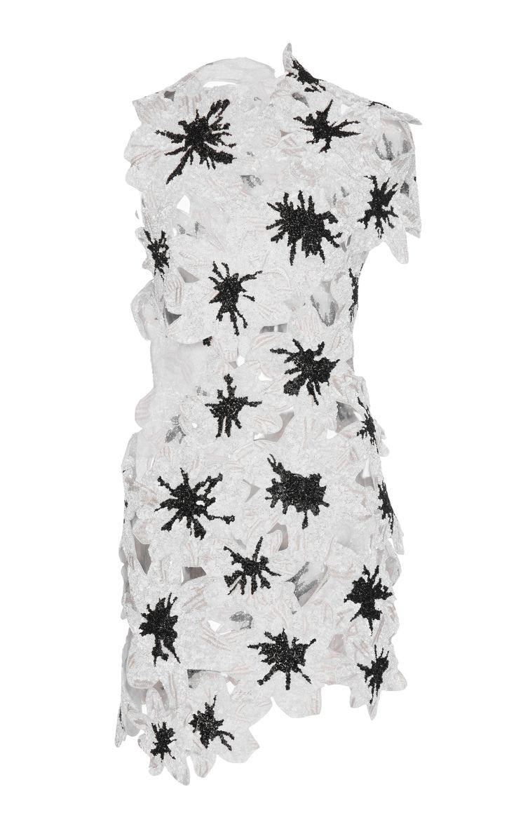 Pieced Flower Embroidery Top by PROENZA SCHOULER for Preorder on Moda Operandi