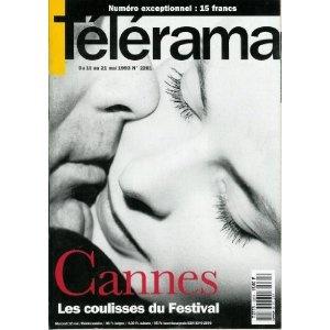Télérama - n°2261 - 12/05/1993 - Cannes : les coulisses du Festival / Cary Grant et Ingrid Bergman  [magazine mis en vente par Presse-Mémoire]