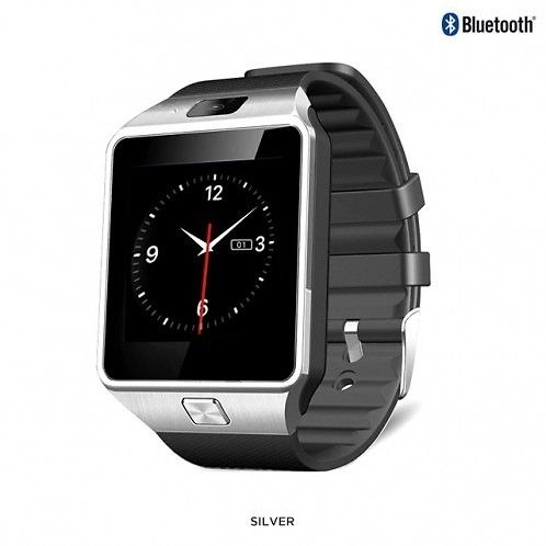 Bluetooth 3.0 Smart Watch with Silicone Strap for Android Phones - Assorted Colors