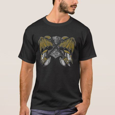 Thor Hammer of the Gods Guitars T-Shirt - click to get yours right now!