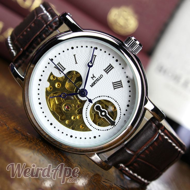Buy #steampunk watches. It might be named Half-face but it's certainly not half-hearted. You'll get the whole package with this stylish #watch.