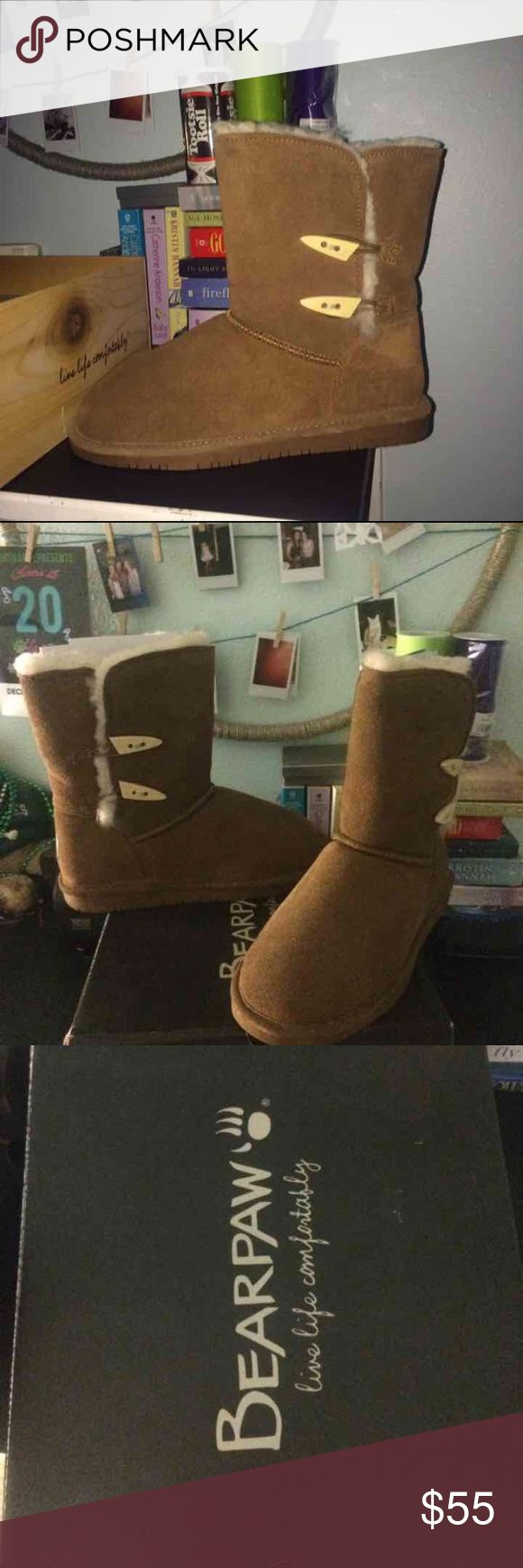 Bear paw Abigail boots Never been worn still in box BearPaw Shoes