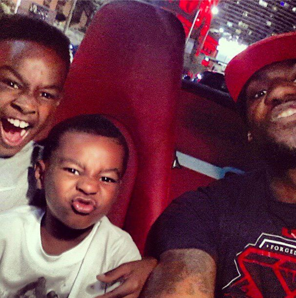 Pin for Later: The Sweetest Celebrity Dad Moments LeBron James With LeBron Jr. and Bryce Source: Instagram user kingjames