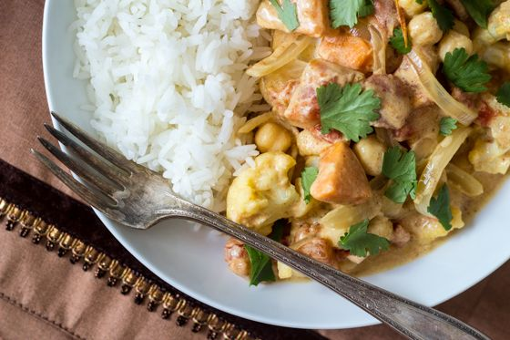 Quick and Easy Fall Vegetable Curry (30 Minute Mondays!)