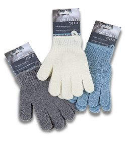 Urban Spa Exfoliating Gloves - Assorted Colors $3.99 - from Well.ca