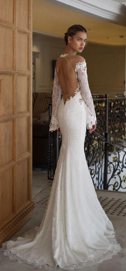 Wedding dress idea featured nurit hen