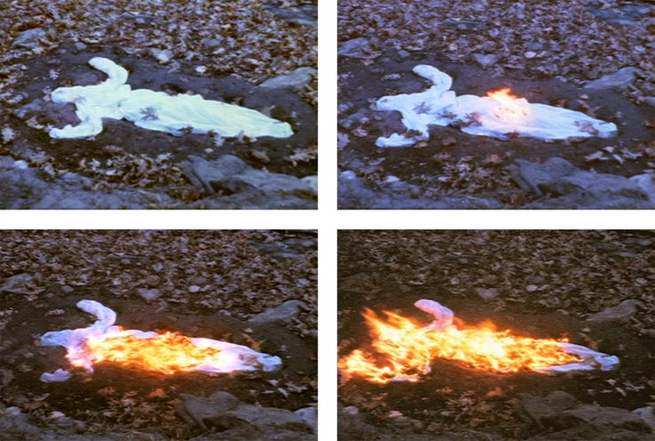 Ana Mendieta - Alma Silueta en Fuego