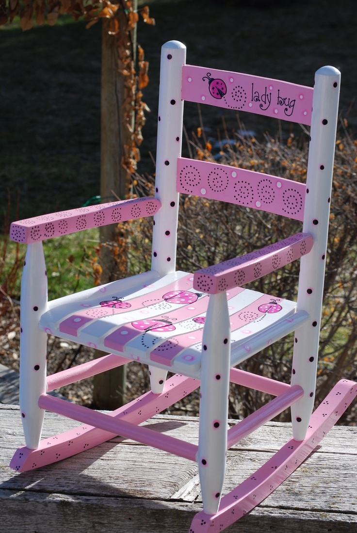 ... furniture on Pinterest  Painted chairs, Hand painted chairs and Child