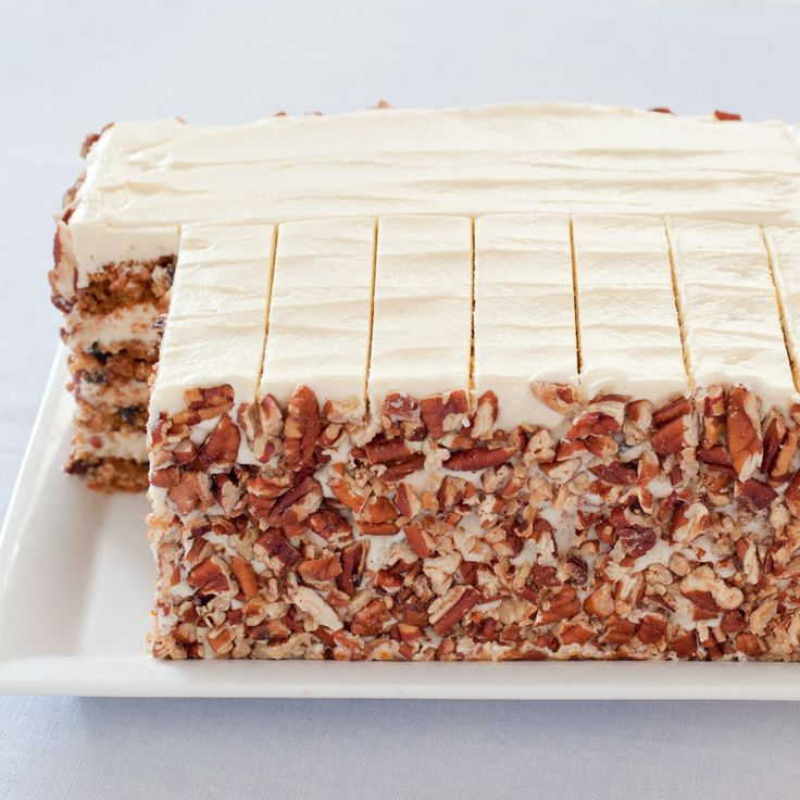 This American classic has a lot going for it: moist cake, delicate spice, tangy cream cheese frosting. If only it were handsome enough to serve to company, too.