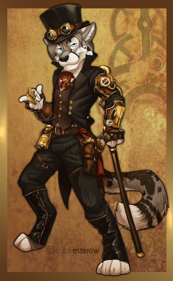 Steampunk+Furries=Epic Awesomeness Furries Pinterest