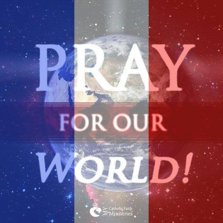 The world need prayer...especially Nice, France right now! Please pray for everyone impacted by this tragedy!!