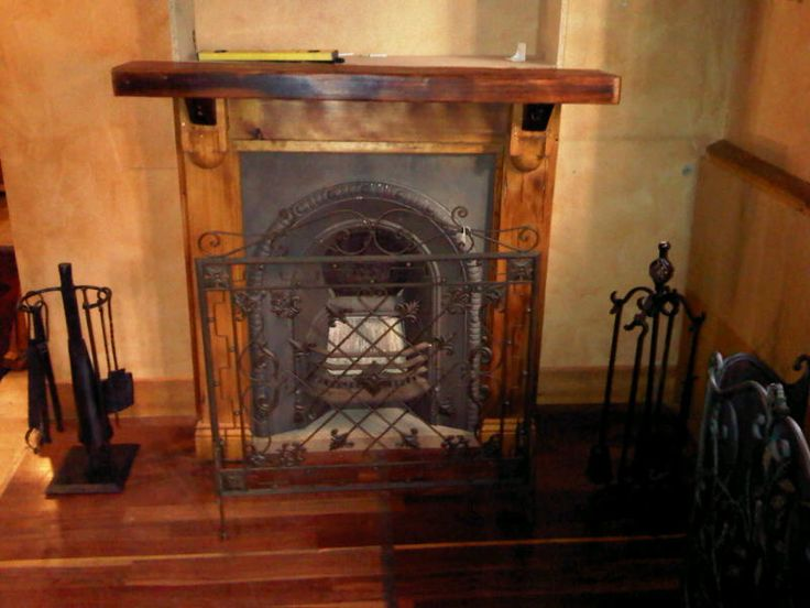 We will make a mantel and surround just for you.  We do not supply or fit fireplaces.