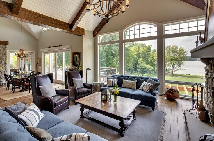 182 Best Images About Lake Home Living Room On Pinterest