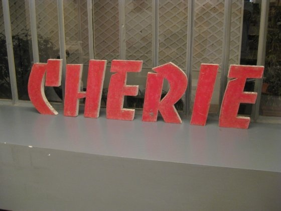 """Cherie. French for """"darling."""""""