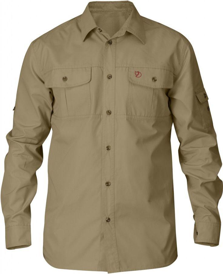 Fjellreven Sarek Trekking Skjorte - Skjorter - Herre