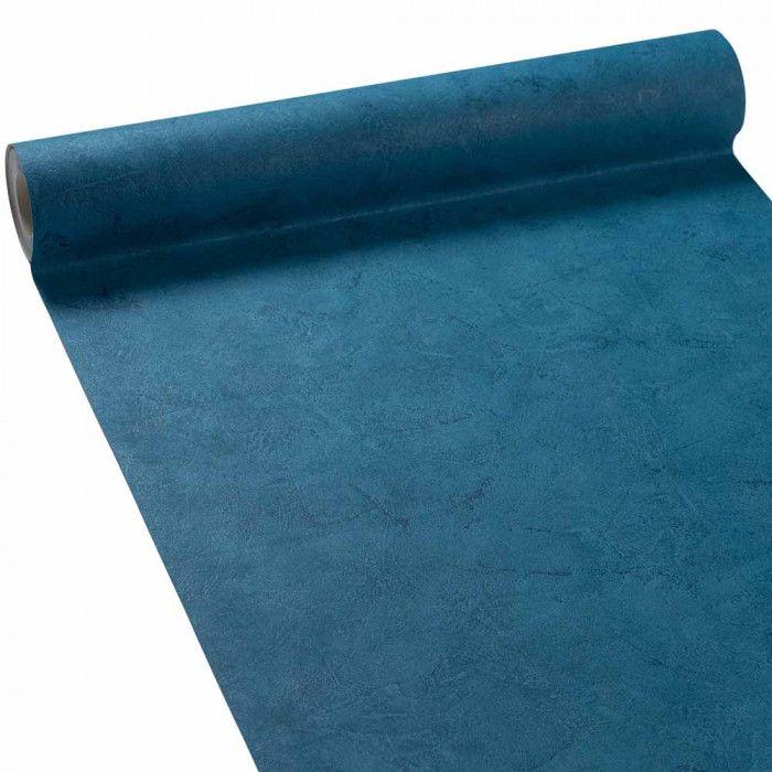 Papier peint vinyle Vienne Bleu