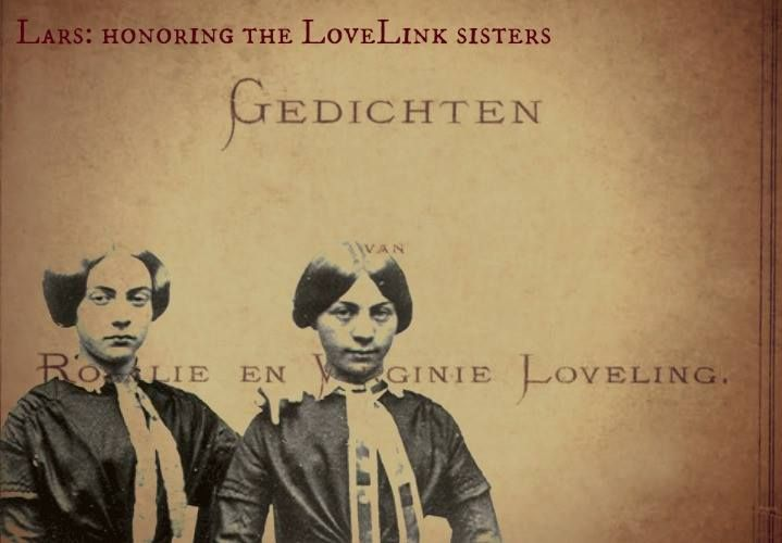 Honoring the LoveLink Sisters - by Lars Sanders. Two Flemish sisters, one famous poetical tearjerker, a monkey in a red vest, and a tower... Lars gives an homage to Rosalie and Virginie Loveling. Read more at http://overthehorse.com/honoring-lovelink-sisters