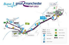 Manchester 10k route!