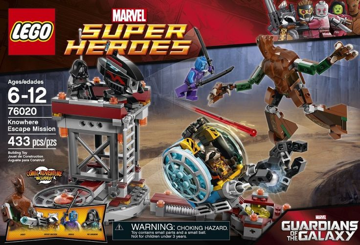 LEGO Superheroes Knowhere Escape Mission 76020 - Discount Toys USA