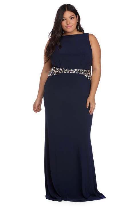 29632c1fe09c Вечерние платья для полных девушек и женщин американского бренда Windsor  весна-лето 2018