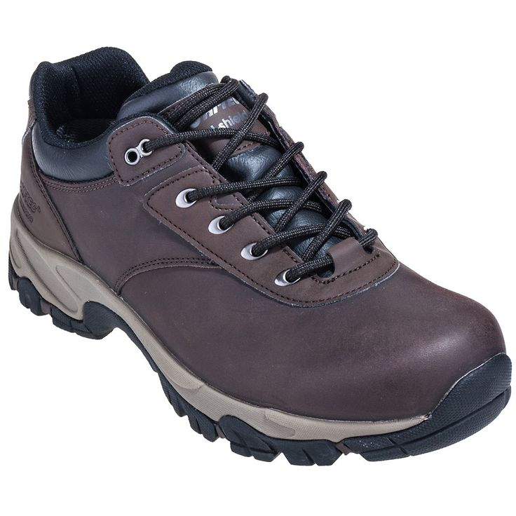 Hi-Tec Boots 52077 Mens Dark Brown Altitude V Low Waterproof Hiking Shoes